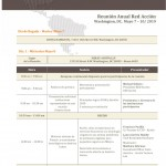 AGENDA REUNION ANUAL RED ACCION