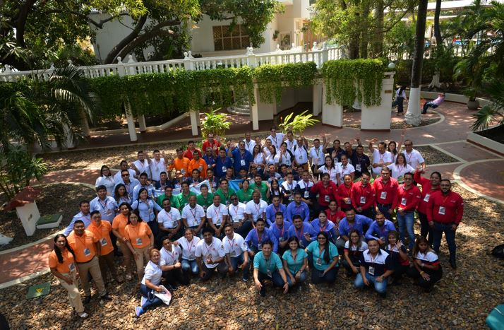 Reunión Anual de Asesores de negocios de las Instituciones afiliadas y en proceso de afiliación a la Red Acción - Hotel Caribe, Cartagena - 90 participantes