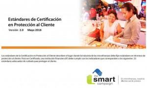 Estándares de Certificación en Protección al Cliente